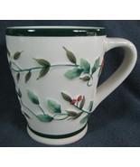 Pfaltzgraff Winterberry Embossed Coffee Mug Cup Christmas Holiday Tall - $9.99