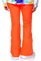 Aperture Kaleidoscope Womens Snowboard Ski Pants 10k Waterproof Neon Orange XS image 7