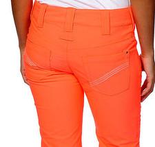 Aperture Kaleidoscope Womens Snowboard Ski Pants 10k Waterproof Neon Orange XS image 6