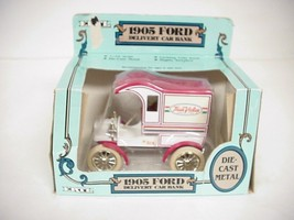 ERTL 1905 Ford Delivery Car Bank, Die-cast Metal # 9301EO - $19.79