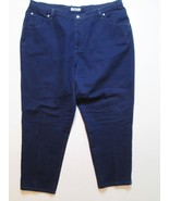 Just My Size Women Denim Jeans Size 22 Inseam 27.5 Blue #K1 - $16.99