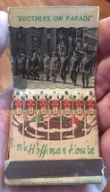 """FEATURE"" Vintage THE HOFFMAN HOUSE Club Matchbook Advertising UNUSED - $12.38"