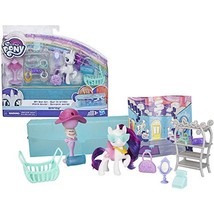 My Little Pony Toy On-The-Go Rarity -- White 3-Inch Pony Figure with 14 ... - $14.84