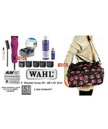 Wahl KM10 GROOMER KIT CLIPPER&5 BLADES&8pc METAL Attachment COMB SET,CAS... - $599.99
