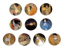 GUSTAV KLIMT fine art paintings pin pinback button BADGE Magnet KEYCHAIN... - $5.50+