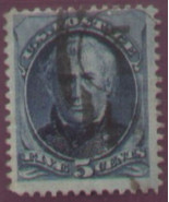 1875 #179 5cent & 1888 #216 5cent used - free shipping - $11.76