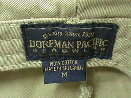 Dorfman Pacific Newsboy Cabbie Hat Size Medium image 5