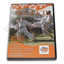 Secrets Championship Karate Beginner Kumite Sparring Techniques DVD Elis... - $19.99