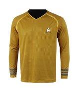 Star Trek Into Darkness Captain Kirk Shirt Uniform Cosplay Costume - $42.99+