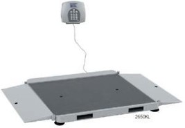 HealthOMeter 2650KL Pro Plus Wheelchair Ramp Scale - $2,335.00