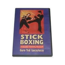 Stickboxing Filipino Kali/Jeet Kune Do Martial Arts DVD Ted Lucaylucay - $19.99