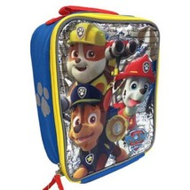 Paw Patrol 3D Insulated Boys Lunch Box / Bag + Bonus Snack Containers & ... - $30.75