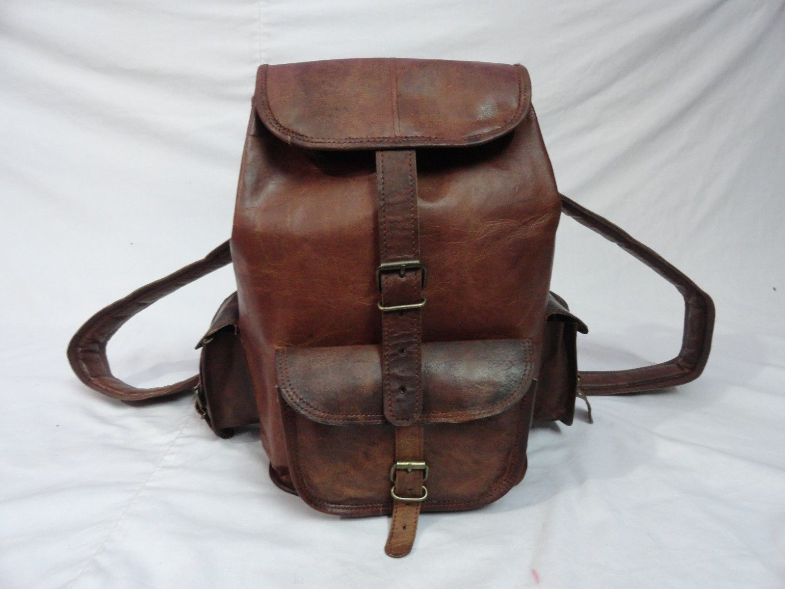 c4c7b7396fd3 Women's Handmade Backpack Vintage Leather and 50 similar items