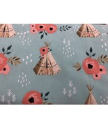 "Indian Tee Pee Cotton Fabric Window Topper Curtain Valance 42""W x 15""L - $9.89"