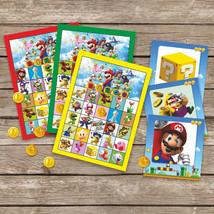 Super Mario Bingo, Party Game, Super Mario Bros Bingo, Mario Luigi, Vide... - ₨408.00 INR