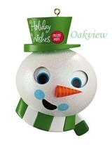 Carlton 2012 Holiday Fun For You Talking Snowman Ornament CXOR068B - $9.95