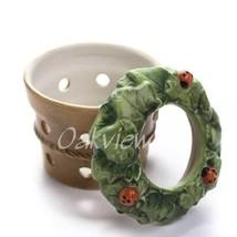 Hallmark Marjolein Bastin *New* Ladybug Flower Pot Tealight Candle Holder - $7.95