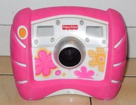 Fisher Price Kid Tough Digital Camera Pink Flowers - $32.73