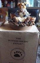 """Boyds #651216YC * Large Candle Topper """"Muffin B Bluebeary  *  - $5.00"""