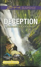 Tailspin Elizabeth Goddard (Mountain Cove #6)Love Inspired Large Print S... - $2.00
