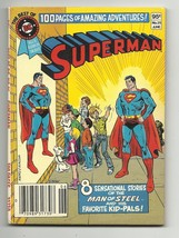 Best of DC Blue Ribbon Digest #25 - Superman and his favorite kid-pals!!... - $8.63