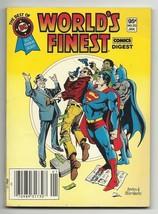 Best of DC Blue Ribbon Digest #20 - World's Finest featuring Batman & Su... - $5.75