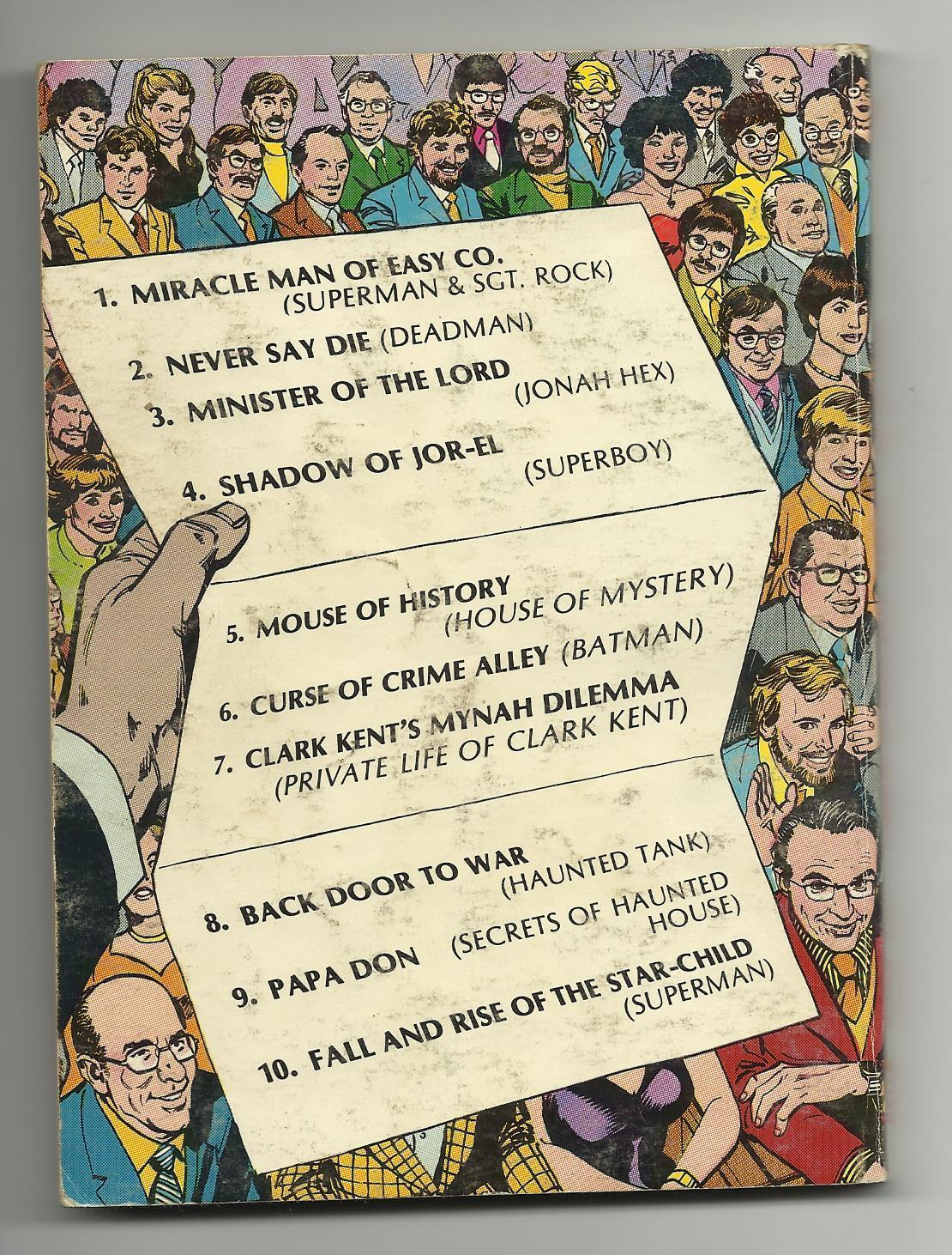 Best of DC Blue Ribbon Digest #5 - Year's Best Comics Stories - VG/FN 5.0