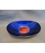 """EDS"" Maker Mk'd Hand Painted Enamel on Copper 5"" Dish, from Israel - $14.99"