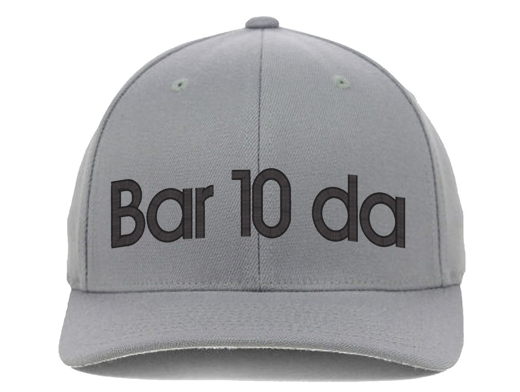 BARTENDER Bar10da, Flexfit Fine Finished Embroidery Hats