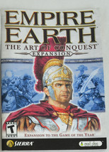 Empire Earth Expansion User Instruction Manual And Unit Diagram - Sierra... - $1.99