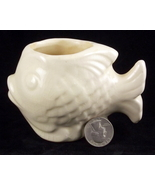 Vintage Shawnee Pottery Blow Fish mini planter ... - $15.00
