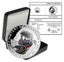 Liberia $5 Dollars, 20 g Silver Proof Coin, 2011, Mint, Sharp Stewart 148 - $49.99