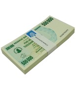 Zimbabwe 500,000 Dollars Bearer Cheque X 50 Pie... - $7.264,35 MXN