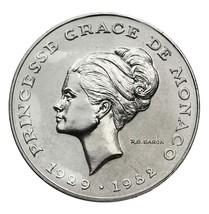 Monaco 10 Francs, 10 g Cupro-Nickel Coin, 1982,... - $29.99