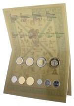 Mexico 10 Cent to $10 Peso X 10 Coin Set w/Folder, 2009, Mint, Juego de ... - $19.99