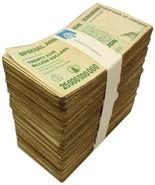 Zimbabwe 25 Billion Dollars X 1,000 (1000) Piec... - $2,999.99