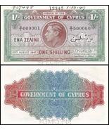 Cyprus 1 Shilling, 1947, P-20, UNC, SPECIMEN - £614.44 GBP