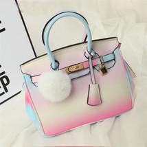 Fashion Women Gradient Ramp Tote Shoulder Bags Handbags Satchel Messenge... - $16.50