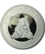 Fiji $1 Dollar,28.47g CuNi Coin,2009,KM#137,Mint,Giant Panda,Great Anima... - $9.99
