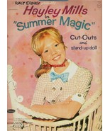 VINTAGE UNCUT 1963 HAYLEY MILLS SUMMER MAGIC PAPER DOLLS~#1 REPRODUCTION SELLER! - $18.98