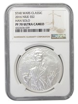 Niue Disney Star Wars $2, 1 oz. Silver Coin, 20... - $109.99