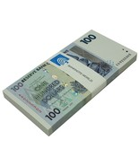 Zimbabwe 100 Dollars X 100 Pieces (PCS), 2007, P-69, UNC, Bundle,50&100 ... - £127.23 GBP