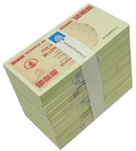 Zimbabwe 500 Million Dollars X 1,000 (1000) Pieces (PCS), 2008, P-60, UN... - $2,999.99