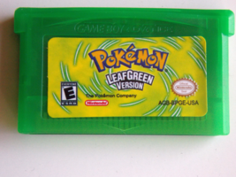 Nintendo Game Boy Advance Pokemon Leaf Green Version Game Cartridge - $19.99