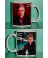 George Clooney  2 Photo Designer Collectible Mug - $14.95
