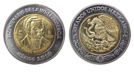 Mexico 5 Pesos, 2009, KM#910, Mint, Bicentenary Independence Coin - Pedr... - $1.99