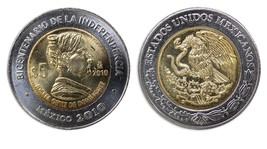 Mexico 5 Pesos, 2010, KM#931, Mint, Bicentenary Coin-Josefa Ortiz de Dom... - $1.99