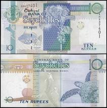 Seychelles 10 Rupees, 2013, P-36c, UNC - $1.89
