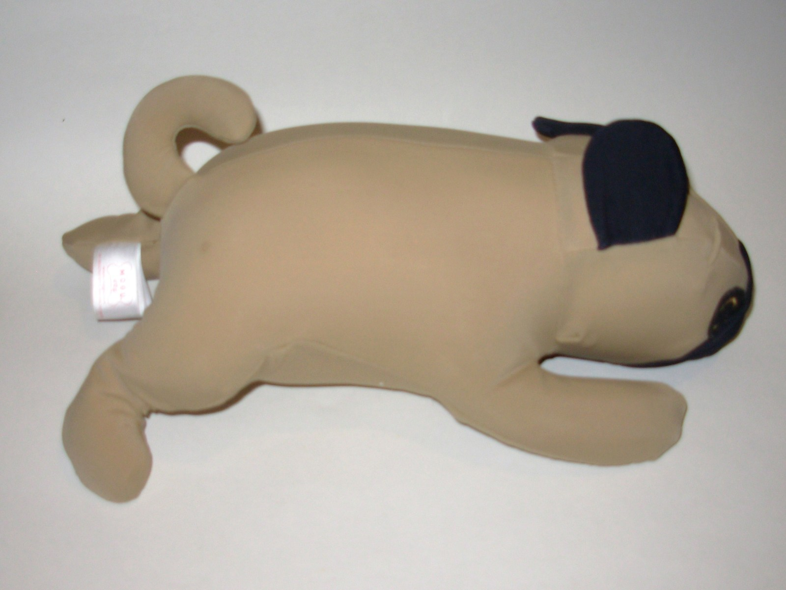 Stuffed Animal Dog Pillow : Mogu Dog Pug Puppy Plush Microbead Pillow Stuffed Animal Tan Brown - Other