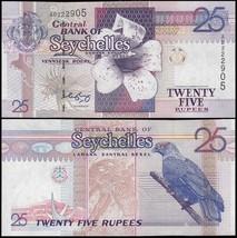 Seychelles 25 Rupees, 2005, P-37b, UNC - $4.49